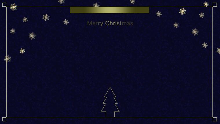クリスマスのフリー背景素材03