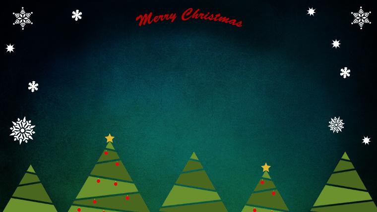 クリスマスのフリー背景素材05