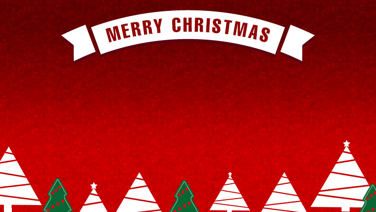 クリスマスのフリー背景素材09