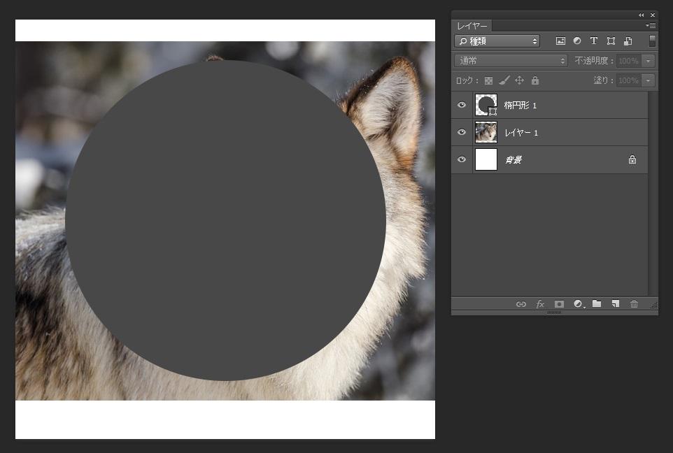 Photoshopのクリッピングマスク02