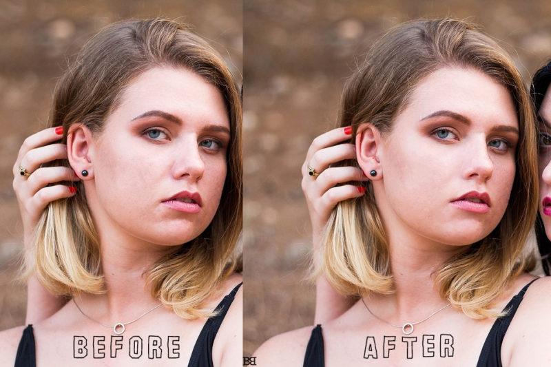 Photoshopのぼかしツールで陶器肌に簡単レタッチ!01