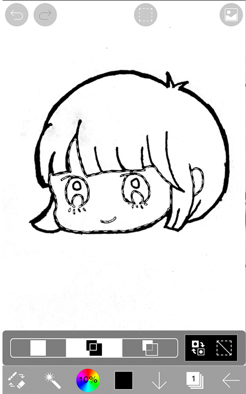 スマホのアプリでイラストを描く方法09