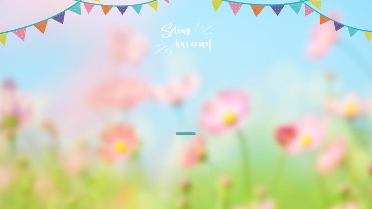 春に使えるかわいい背景のフリー素材01