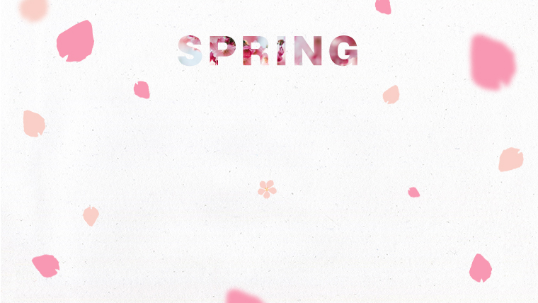 春に使えるかわいい背景のフリー素材02