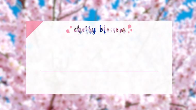 春に使えるかわいい背景のフリー素材06