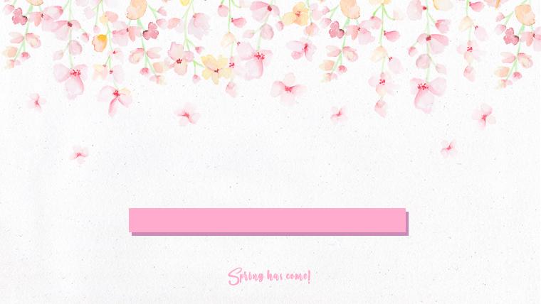 春に使えるかわいい背景のフリー素材07