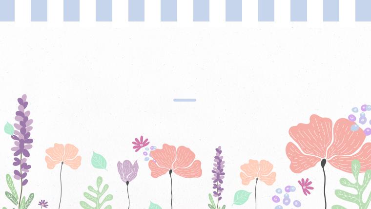 春に使えるかわいい背景のフリー素材08bule