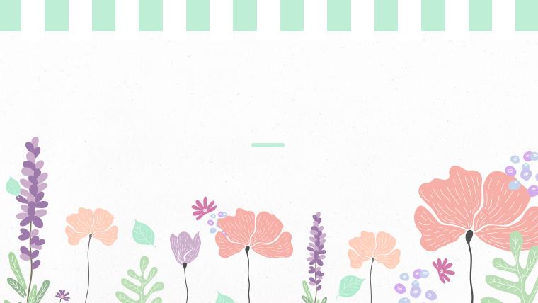 春に使えるかわいい背景のフリー素材08green