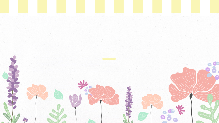 春に使えるかわいい背景のフリー素材08yellow