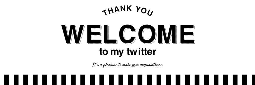 おしゃれで可愛いTwitterのヘッダーフリー素材11