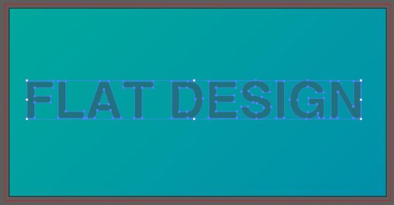簡単1分!フラットデザインで使われる影(ロングシャドウ)の作り方05
