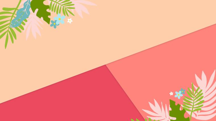 夏に使えるかわいい背景のフリー素材04_red