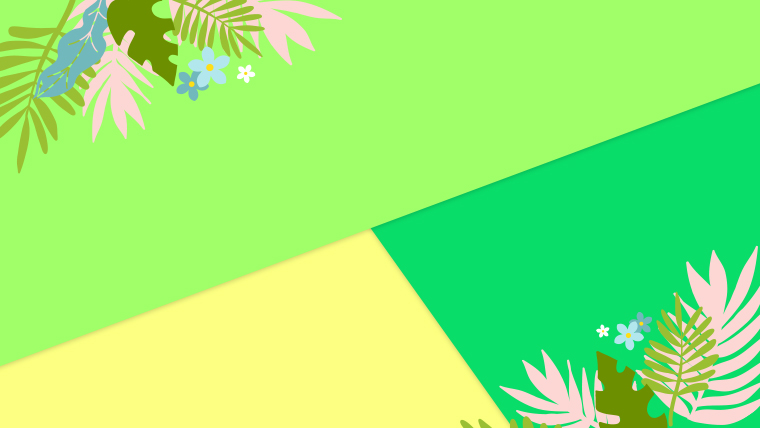 夏に使えるかわいい背景のフリー素材04_yellow2