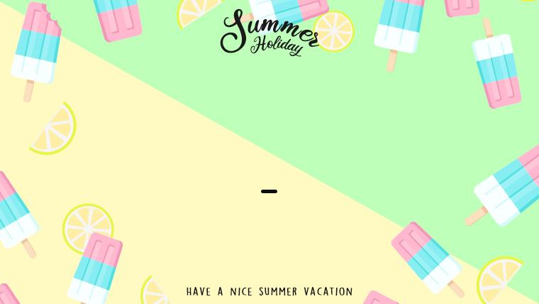 夏に使えるかわいい背景のフリー素材14_green