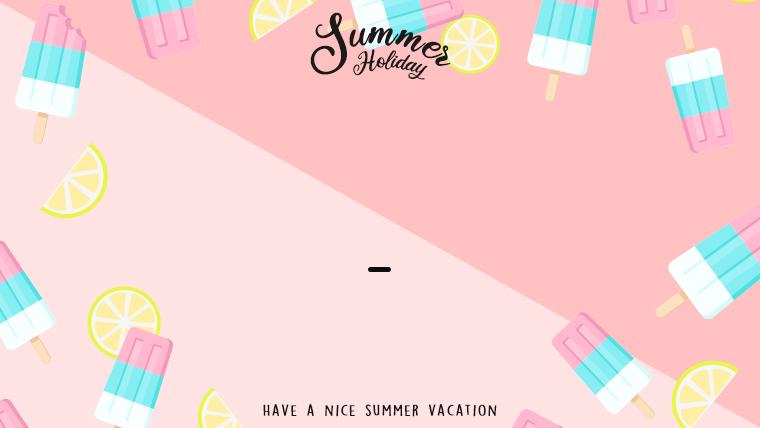 夏に使えるかわいい背景のフリー素材14_pink