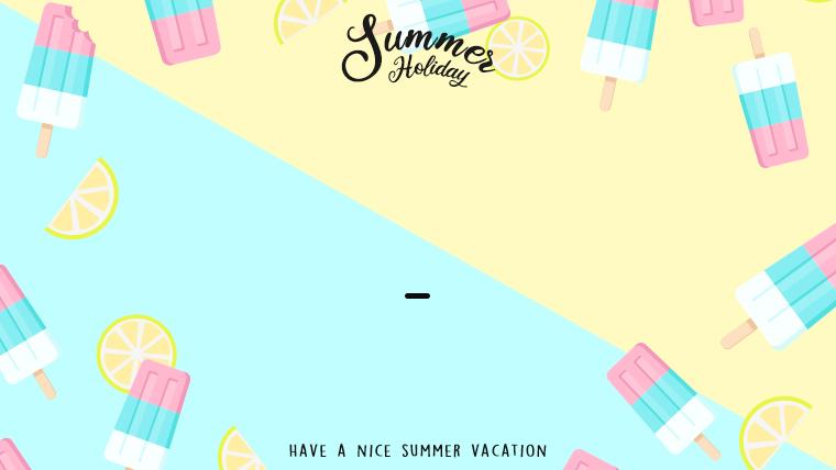 夏に使えるかわいい背景のフリー素材14_yellow